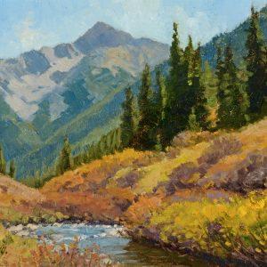 Oberg 14 Sm - 2019 Bear Mountain Study 11x14 $2200