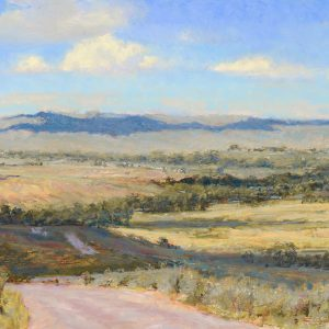 Whitcomb-Road to Dayton pastel 17x28 $9,100