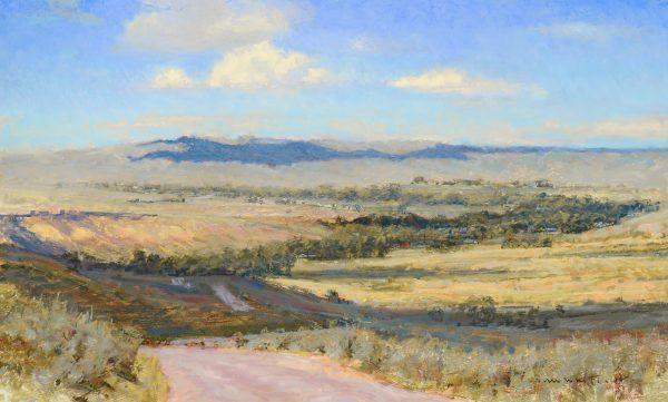 Whitcomb-Road to Dayton pastel 17x28 $9,100