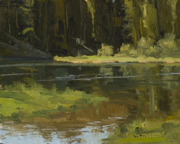 Whitcomb-Snake River Tributary oil 8x10 $2,500