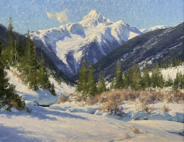 Smith Bear Mountain 19.5x24.75 oil $7200