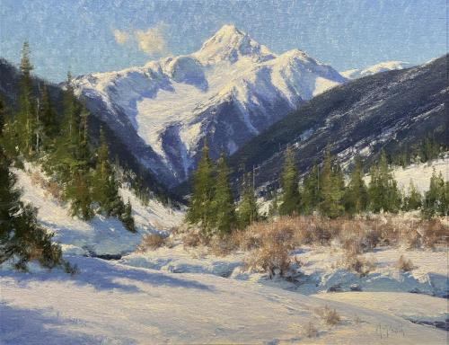 Smith - Bear Mountain, 19.5x24.75,  oil $7200