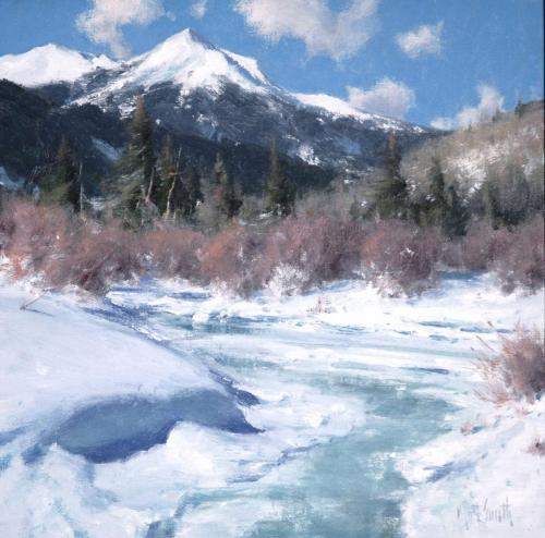 Smith - Beauty of Winter, 14 x14