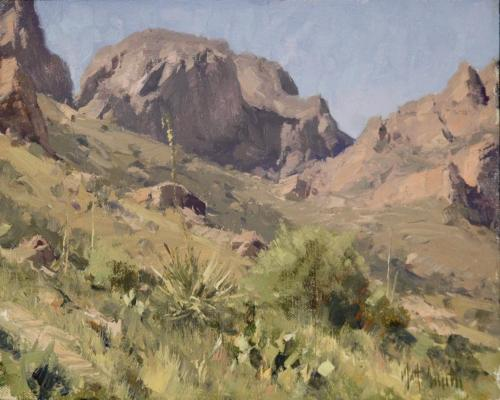 Smith - Big Bend, 8x10, 2006