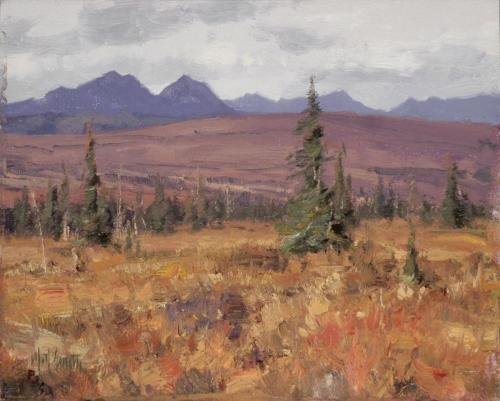 Smith - Denali, 8x10, 2005