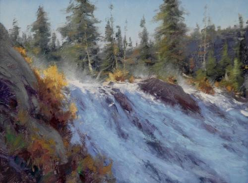 Smith - Lewis Falls,  9x12