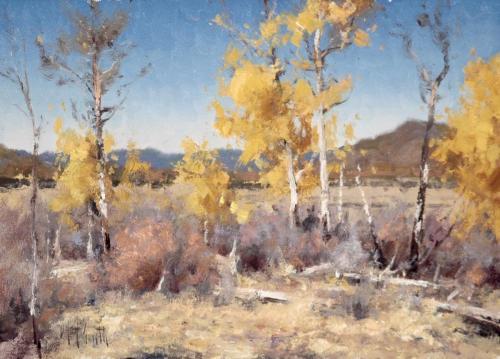 Smith - San Juan Aspens, 10 x14, 2020  $3100