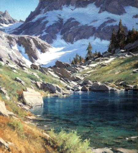 Smith - Sierra Jewel, oil 40x36, $22,000