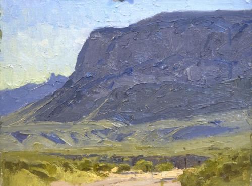 Whitcomb - Big Bend,  9x12