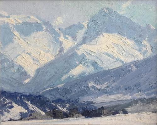 Whitcomb - Dallas Divide from North, 8x10