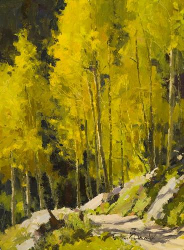 Whitcomb - Fall Trail, 12x9