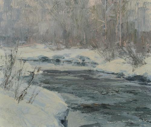 Whitcomb - Flurries Steamboat,  8x9.5