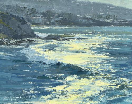 Whitcomb - Laguna Morning,  8x10, $2,500