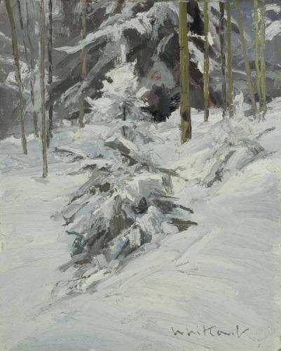 Whitcomb - Spring Snow, 10x8