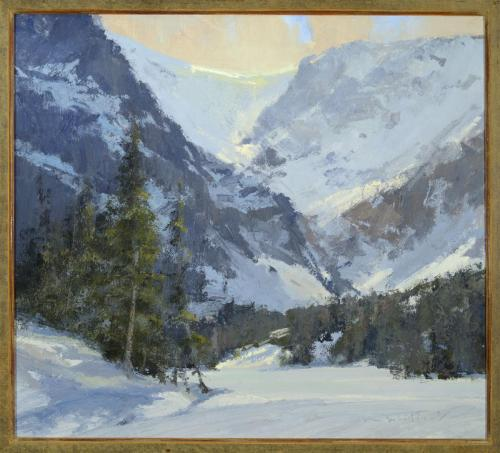 Whitcomb - WinterLoch, 18x20