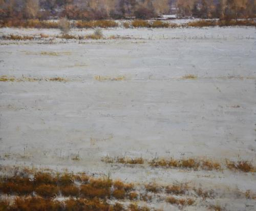 Young - A Late Winter Field, 30x36, $11,000